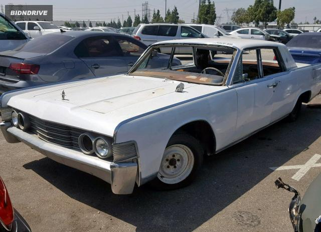 Lot #1318511704 1965 LINCOLN CONTINENTL salvage car