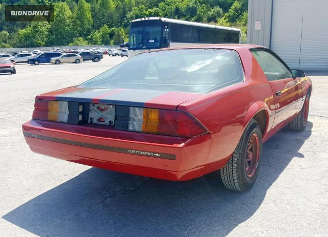 Lot #1322744357 1984 CHEVROLET CAMARO salvage car