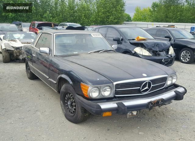 Lot #1350355204 1976 MERCEDES-BENZ 450 SL salvage car