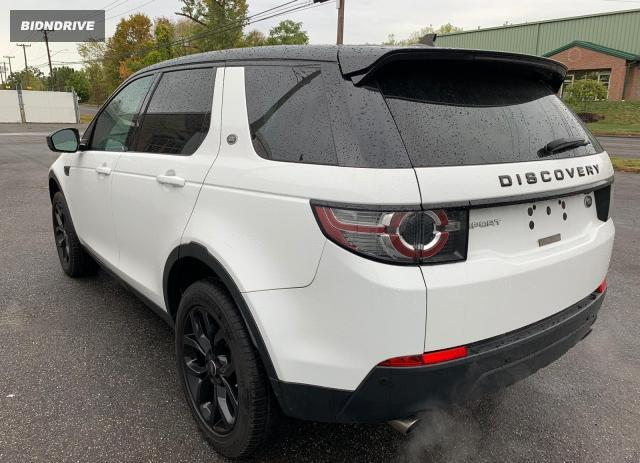 Lot #1589554964 2016 LAND ROVER DISCOVERY salvage car
