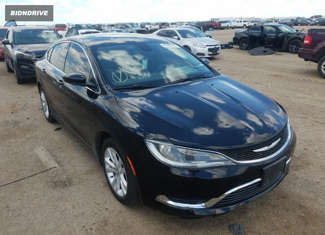 Lot #1592719147 2015 CHRYSLER 200 LIMITE salvage car