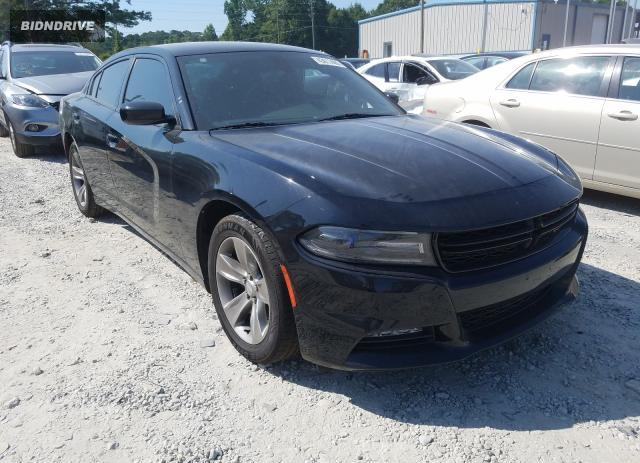 Lot #1599404381 2017 DODGE CHARGER SX salvage car