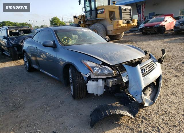 Lot #1600696644 2015 INFINITI Q60 BASE salvage car