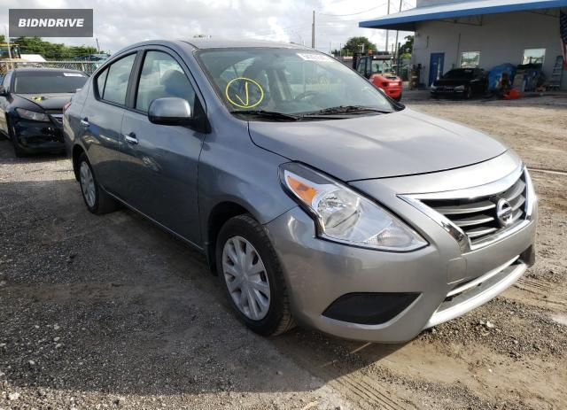 Lot #1600696654 2013 NISSAN VERSA S salvage car