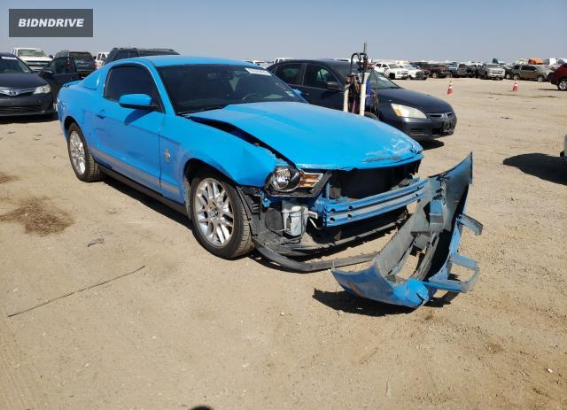 Lot #1604056547 2012 FORD MUSTANG salvage car
