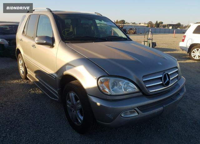 Lot #1606866914 2005 MERCEDES-BENZ ML 350 salvage car