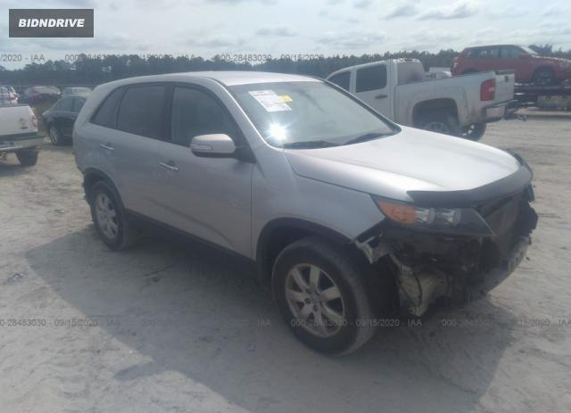 Lot #1607179611 2013 KIA SORENTO LX salvage car