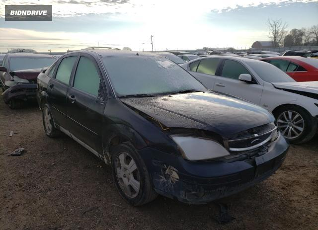 Lot #1607885564 2006 FORD FOCUS ZX4 salvage car