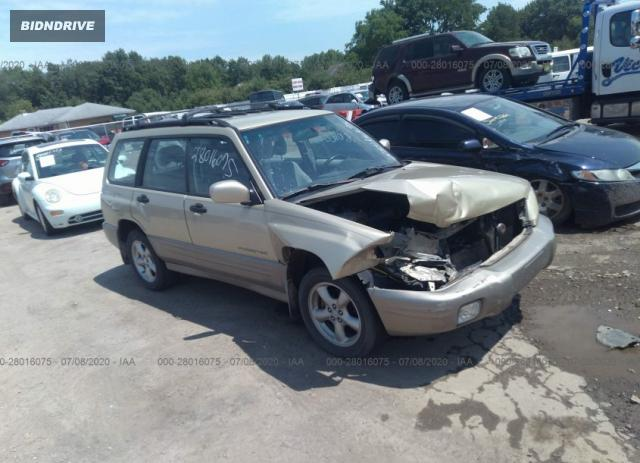 Lot #1608222224 2001 SUBARU FORESTER S salvage car