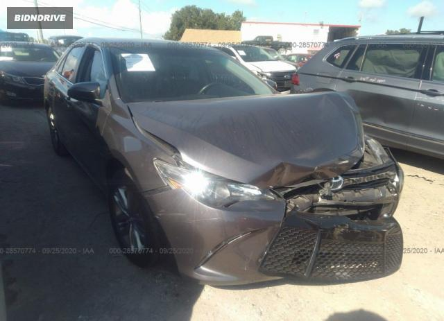 Lot #1608223907 2016 TOYOTA CAMRY XLE/SE/LE/XSE salvage car