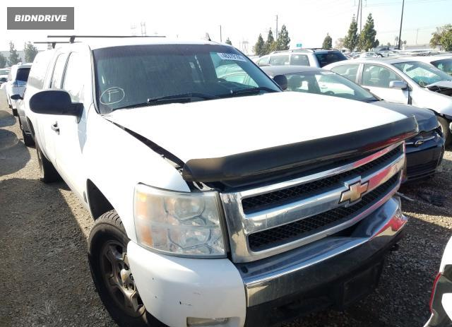 Lot #1608780127 2007 CHEVROLET SILVERADO salvage car