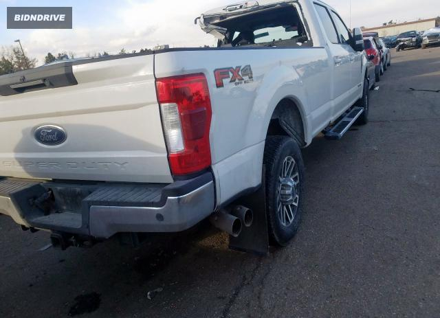 Lot #1609856854 2019 FORD F350 SUPER salvage car