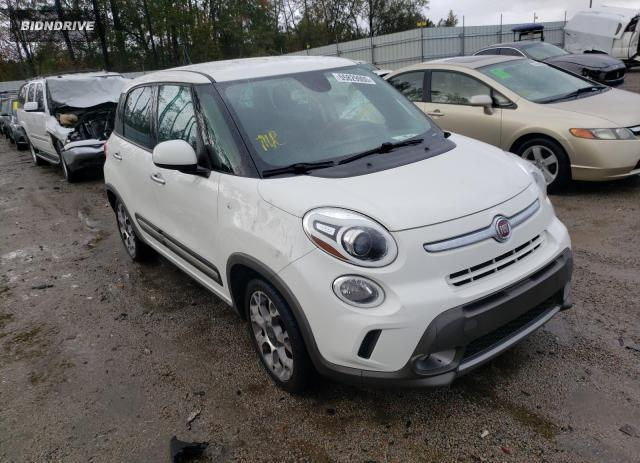 Lot #1609881867 2014 FIAT 500L TREKK salvage car
