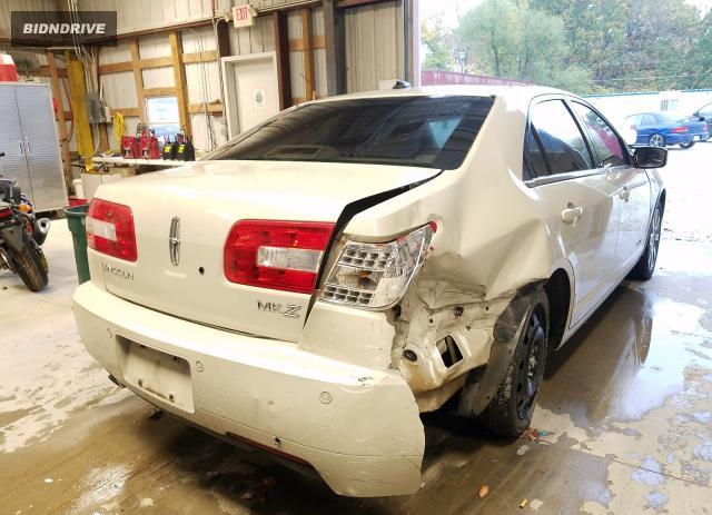 Lot #1609981564 2008 LINCOLN MKZ salvage car