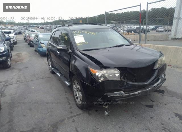 Lot #1610251337 2007 ACURA MDX TECHNOLOGY salvage car