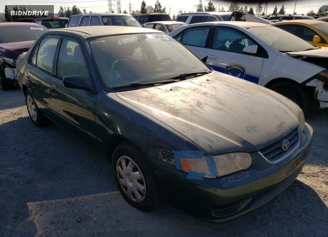 Lot #1610423191 2001 TOYOTA COROLLA salvage car
