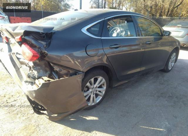 Lot #1611277064 2015 CHRYSLER 200 LIMITED salvage car