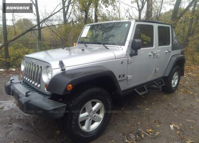 Lot #1611318797 2007 JEEP WRANGLER UNLIMITED X salvage car