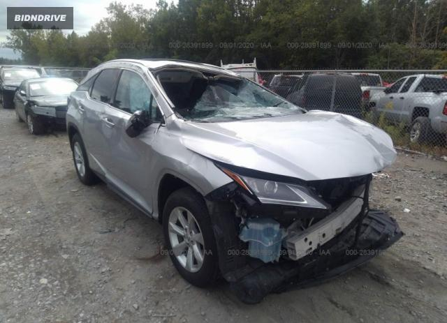 Lot #1611321687 2016 LEXUS RX 350 salvage car