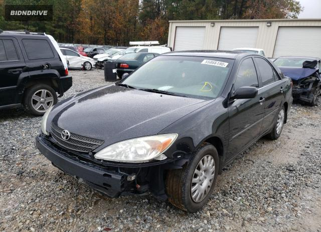 Lot #1611454101 2004 TOYOTA CAMRY LE salvage car
