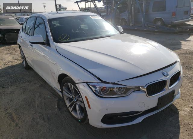 Lot #1611467441 2017 BMW 330 XI salvage car