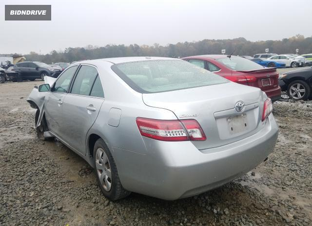 Lot #1611507501 2010 TOYOTA CAMRY BASE salvage car