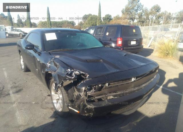 Lot #1611797814 2016 DODGE CHALLENGER SXT salvage car