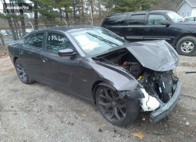 Lot #1611797944 2018 DODGE CHARGER R/T salvage car