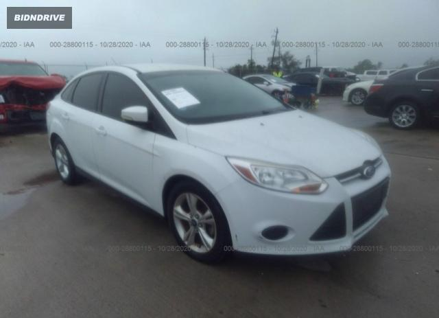 Lot #1611814144 2013 FORD FOCUS SE salvage car