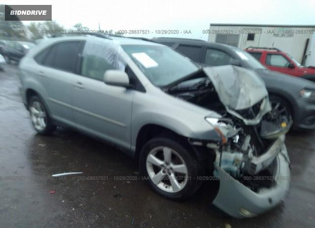 Lot #1611837914 2004 LEXUS RX 330 salvage car