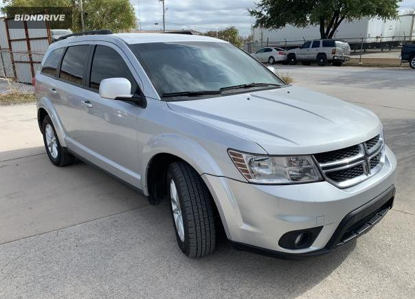 Lot #1611922531 2014 DODGE JOURNEY SX salvage car