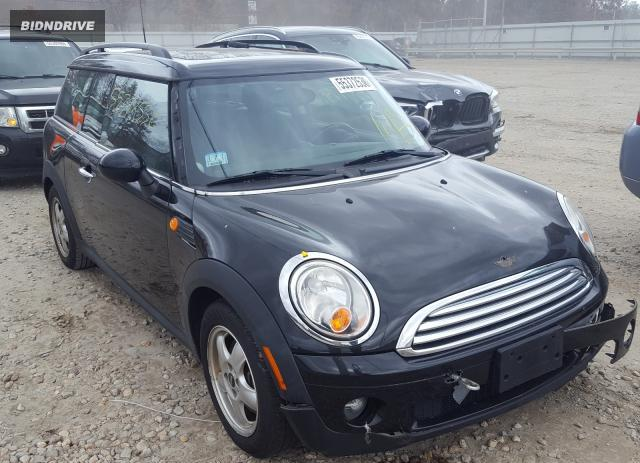 Lot #1611932677 2010 MINI COOPER CLU salvage car