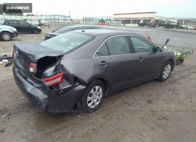 Lot #1612346211 2011 TOYOTA CAMRY salvage car