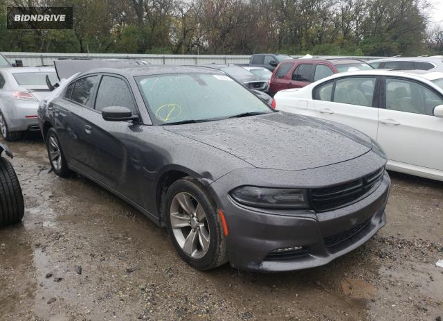 Lot #1613439471 2016 DODGE CHARGER SX salvage car