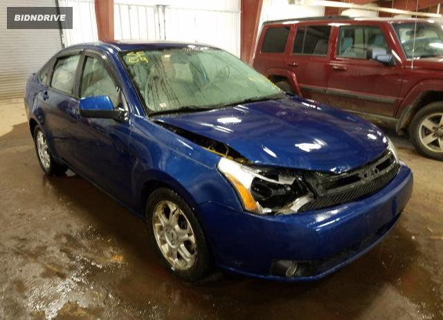 Lot #1613584827 2009 FORD FOCUS SES salvage car