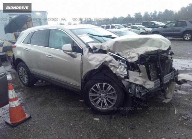 Lot #1613884544 2017 CADILLAC XT5 LUXURY AWD salvage car