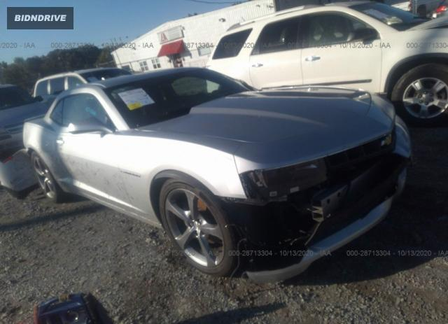 Lot #1613885094 2014 CHEVROLET CAMARO LT salvage car