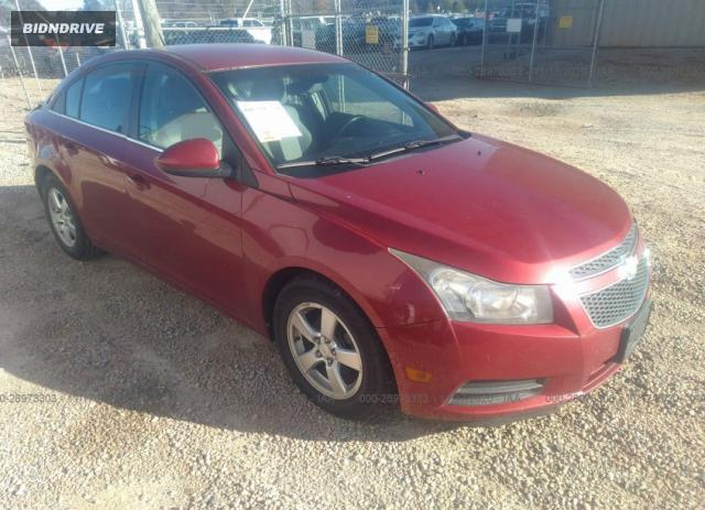 Lot #1613886237 2011 CHEVROLET CRUZE LT W/1LT salvage car