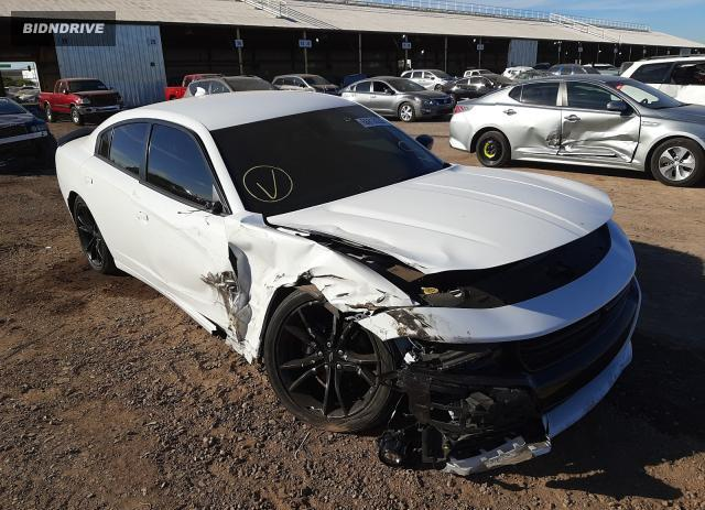Lot #1614483161 2018 DODGE CHARGER SX salvage car