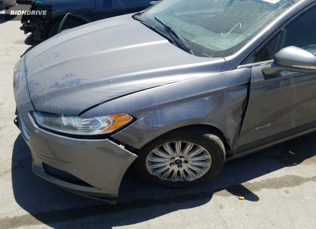 Lot #1615584551 2014 FORD FUSION SE salvage car