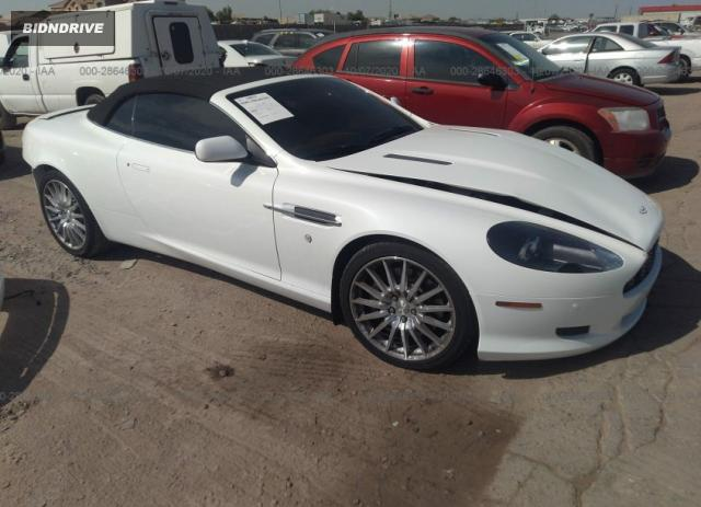 Lot #1615950297 2008 ASTON MARTIN DB9 salvage car