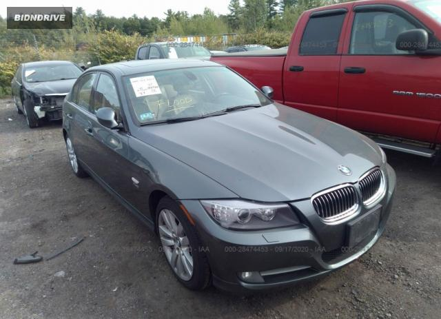 Lot #1615955887 2011 BMW 3 SERIES 335I XDRIVE salvage car