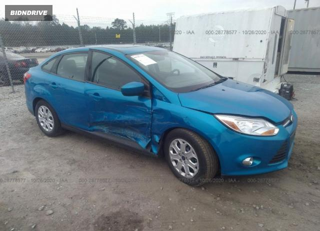 Lot #1615986861 2012 FORD FOCUS SE salvage car