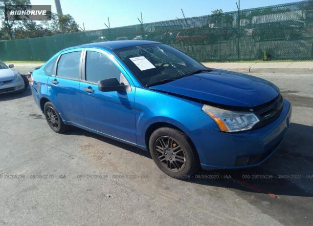 Lot #1615991994 2010 FORD FOCUS SE salvage car