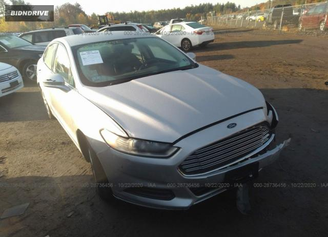 Lot #1615992521 2014 FORD FUSION SE salvage car