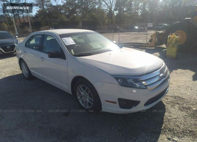 Lot #1615992647 2012 FORD FUSION S salvage car
