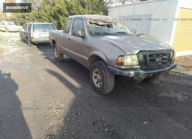 Lot #1615993571 2005 FORD RANGER XLT salvage car