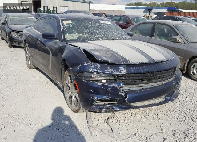 Lot #1617221651 2016 DODGE CHARGER SX salvage car