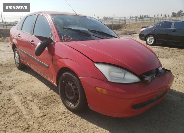 Lot #1617631834 2001 FORD FOCUS LX salvage car