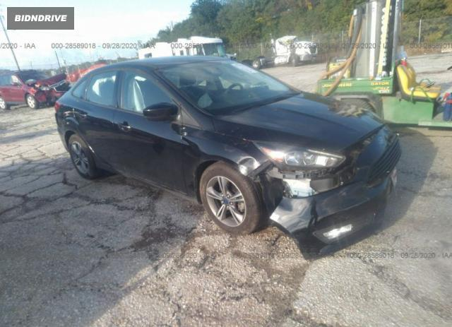 Lot #1618032224 2018 FORD FOCUS SE salvage car